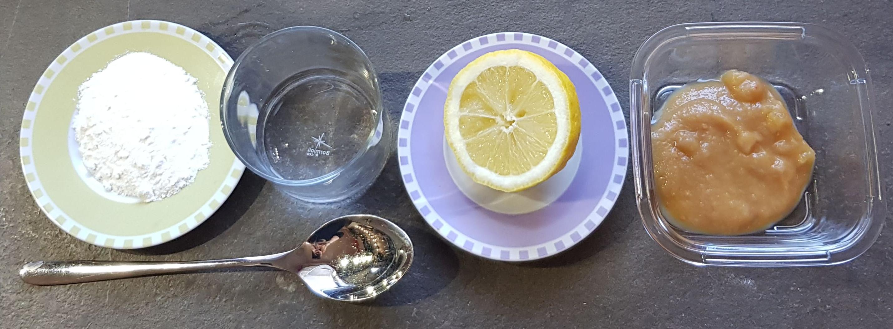 Ingredienti: lievito, acqua, limone, marmellata