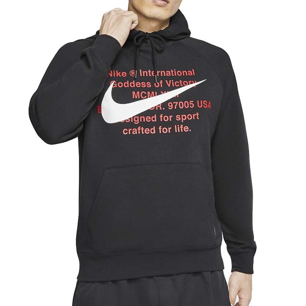 Felpa Nike Swoosh Logo Black da Uomo