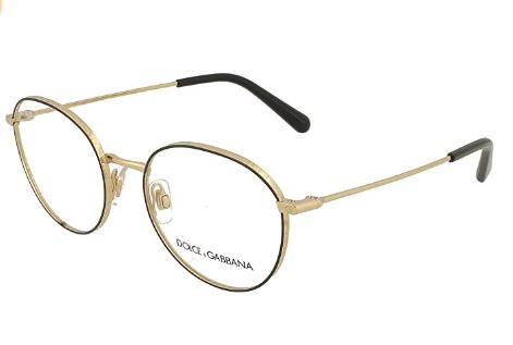 Dolce & Gabbana - Occhiale da Vista Donna, Gold/Matte Black  DG1322 1334  C53