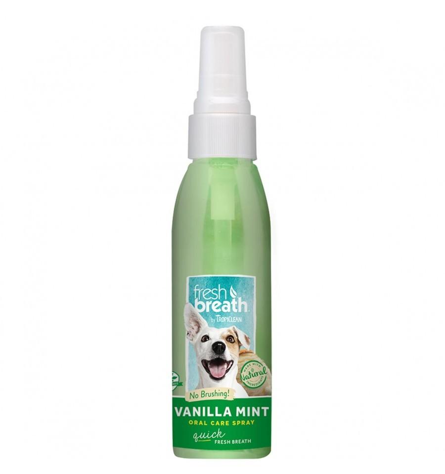 Tropiclean Vanilla Mint Oral Care Spray 118ml