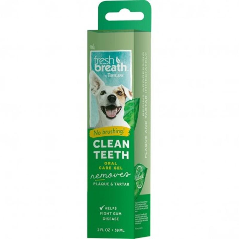 Tropiclean Clean Teeth Gel removes 59 ml