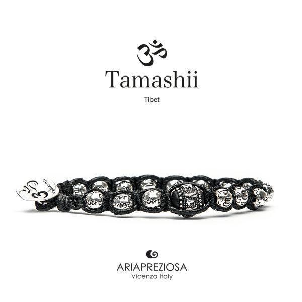 Bracciale Tamashii Ruota Preghiera in Argento BHS924-S2