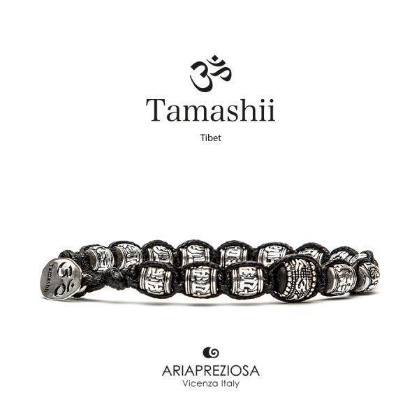 Bracciale Tamashii Ruota Preghiera in Argento BHS924-S1