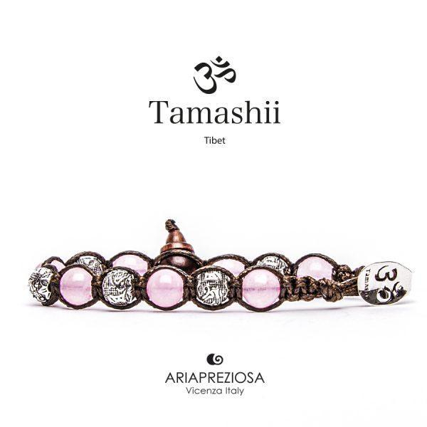 Bracciale Tamashii Ruota Preghiera Giada Rosa
