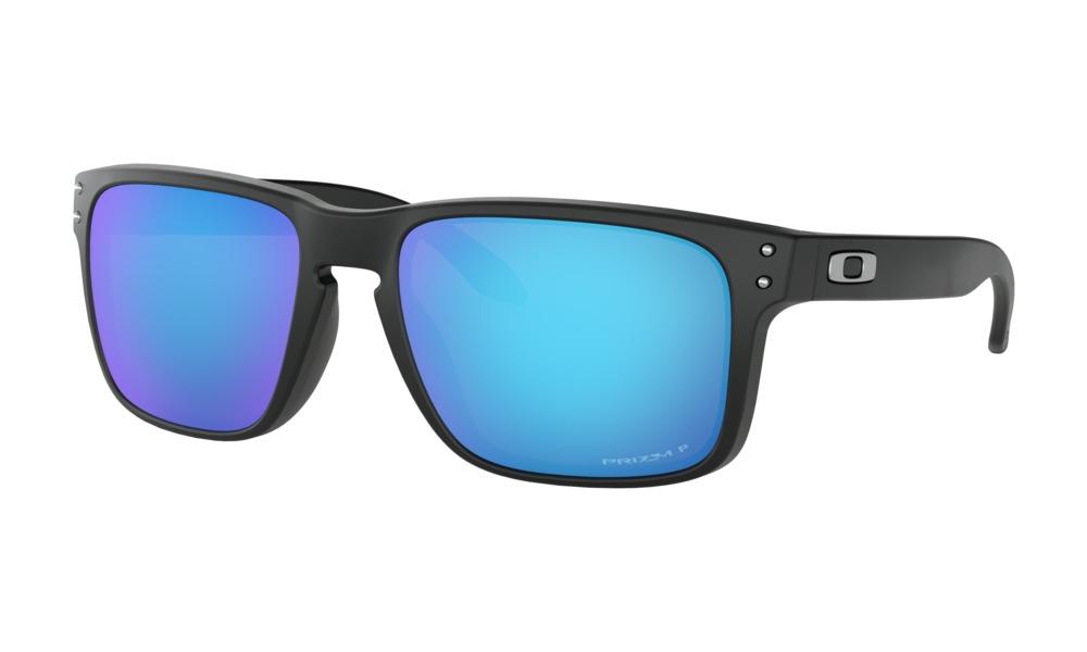 Oakley - Occhiale da Sole Uomo, Holbrook™, Matte Black/Blue Prizm  OO9102-F055  C55