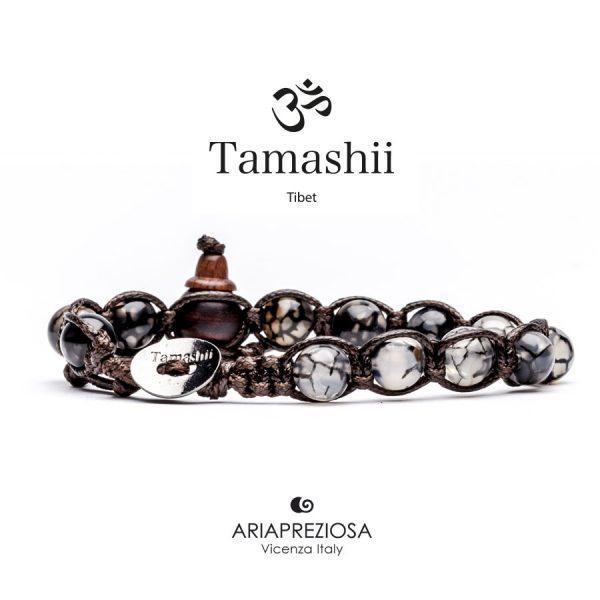 Bracciale Tamashii Agata Grigia Cracked