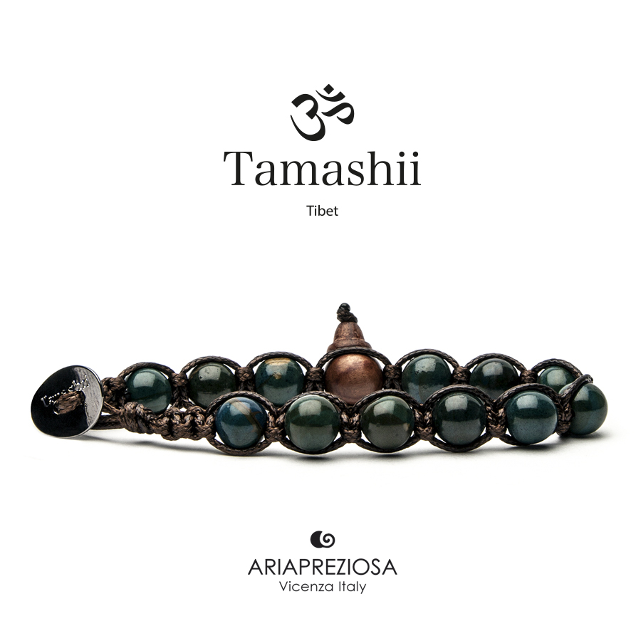 Bracciale Tamashii Stone Collar Verde