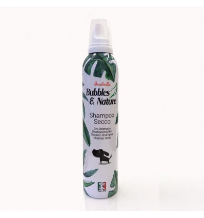 SHAMPOO A SECCO PEE CANI BUBBLES E NATURE 300 ML