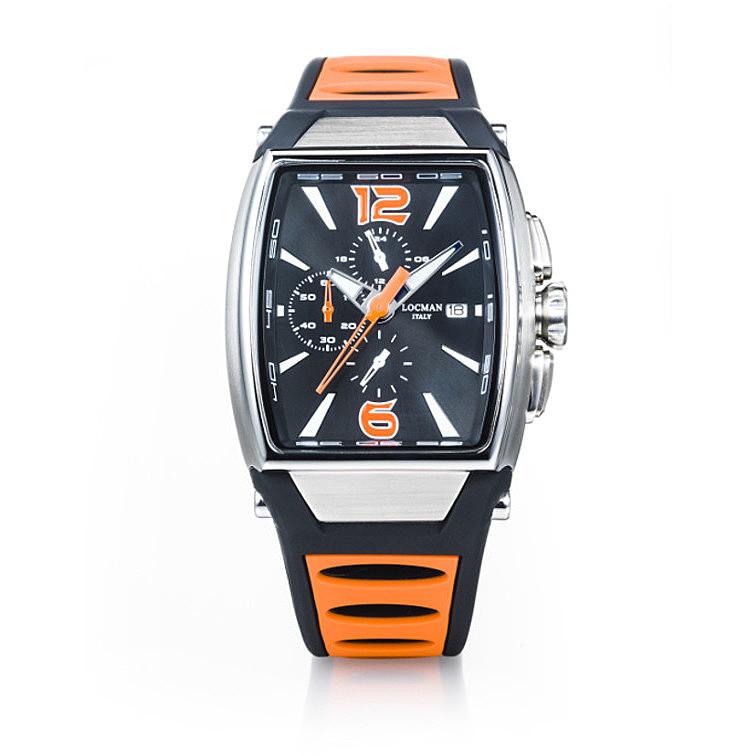 Locman Tremila Cronografo Arancione