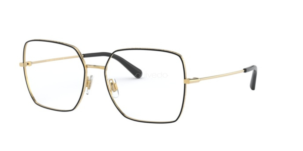Dolce & Gabbana - Occhiale da Vista Donna, Black Gold  DG1323 1334  C57