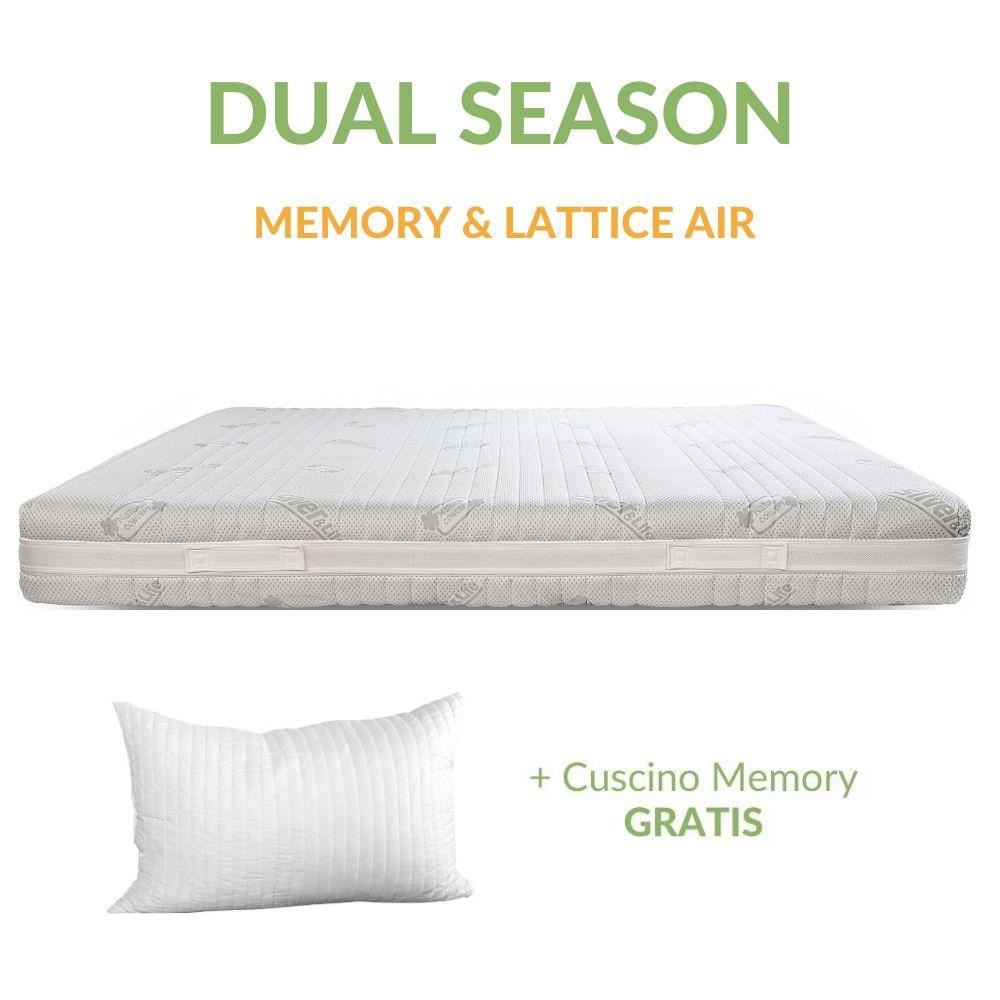 Materassi In Lattice Memory Prezzi.Materasso 4 Cm Memory E 4 Cm Lattice H21 Dual Season