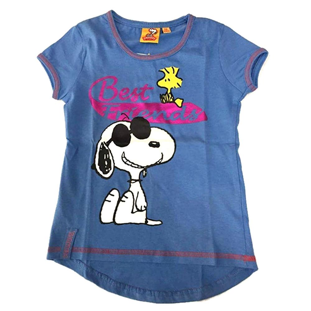 T-shirt Snoopy taglia 6 anni manica corta bambina