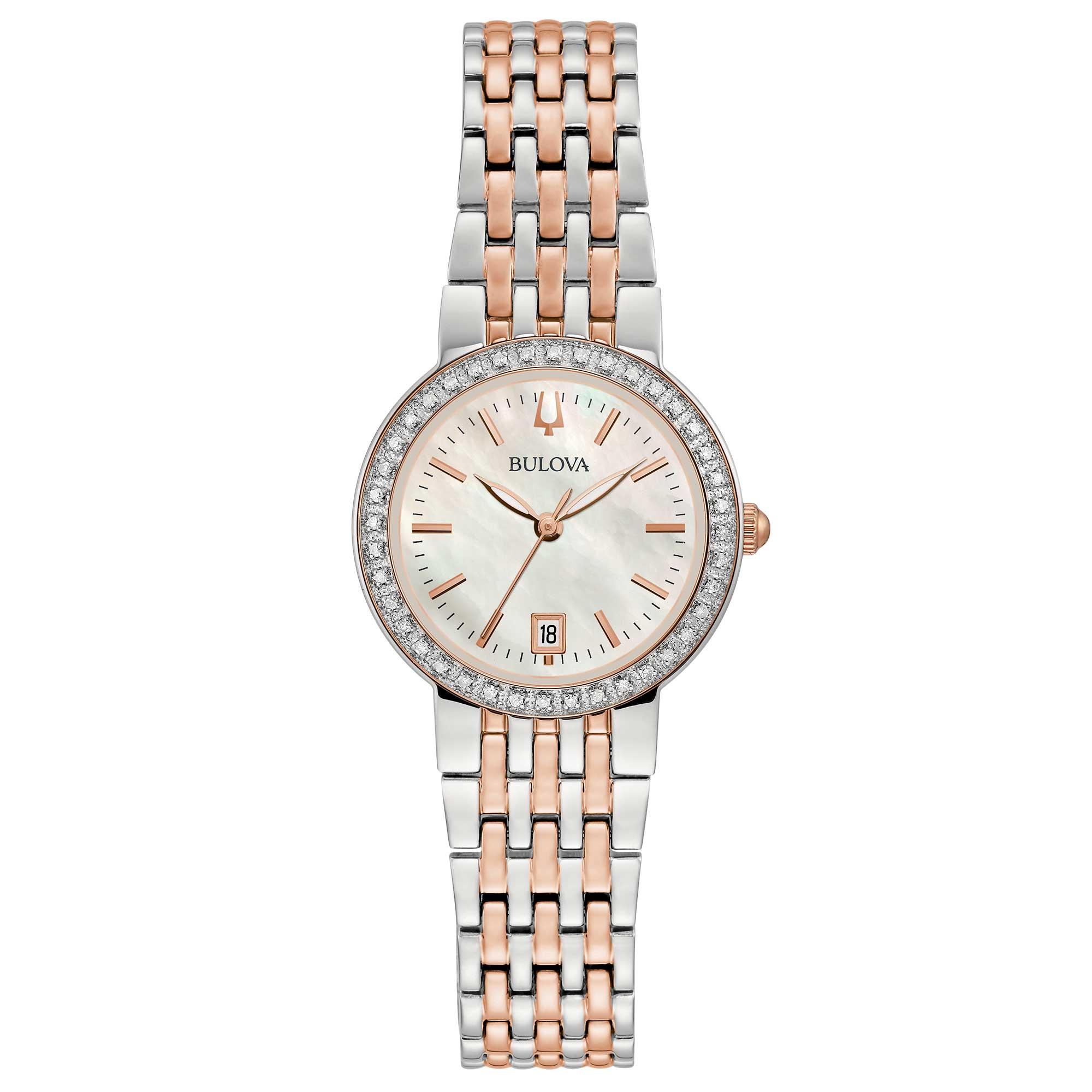Bulova Donna Diamonds 98R280