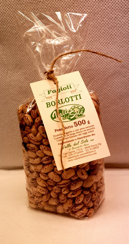 Fagioli borlotti secchi 500 gr.