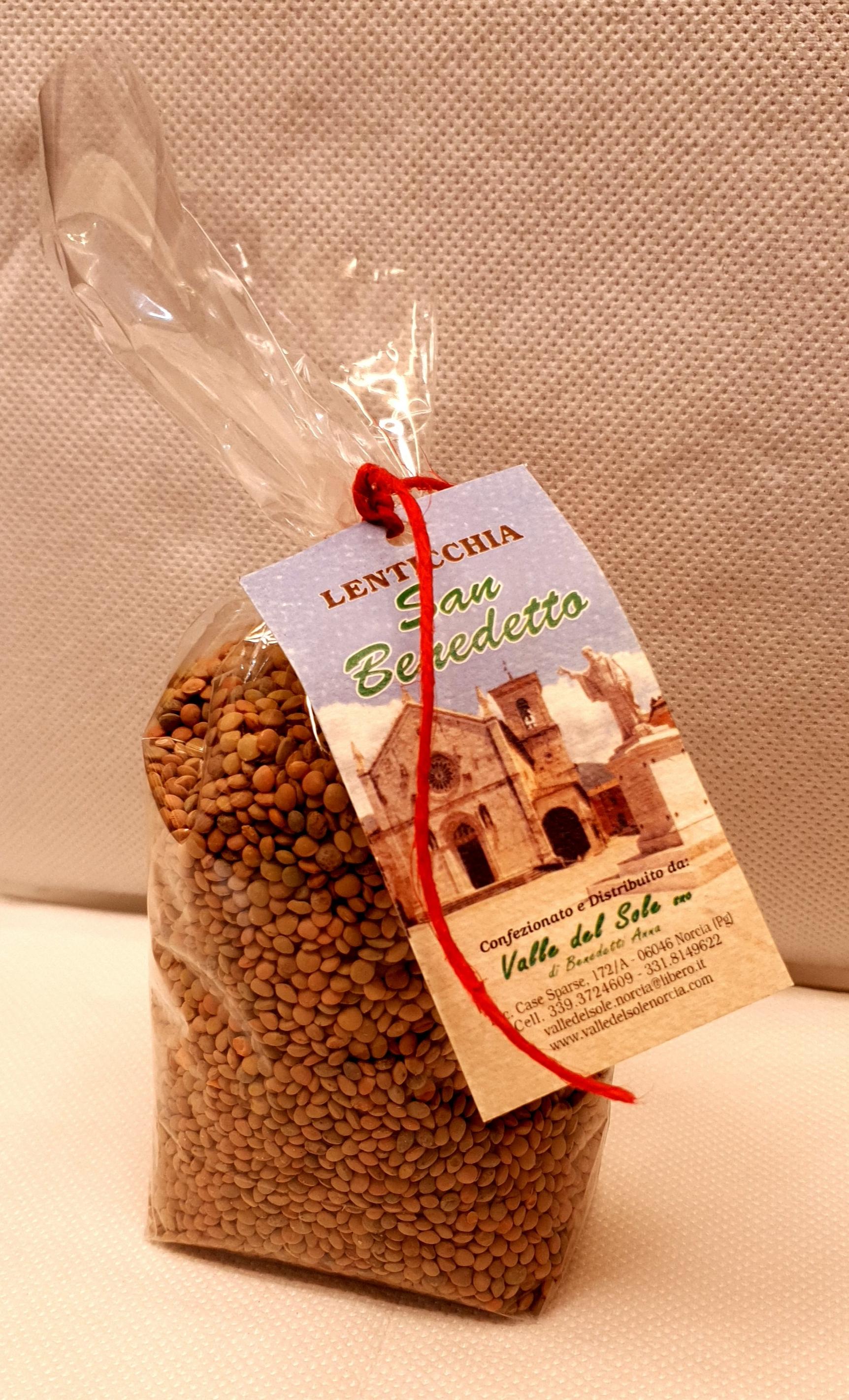 Lenticchie San Benedetto di Norcia 500 gr.