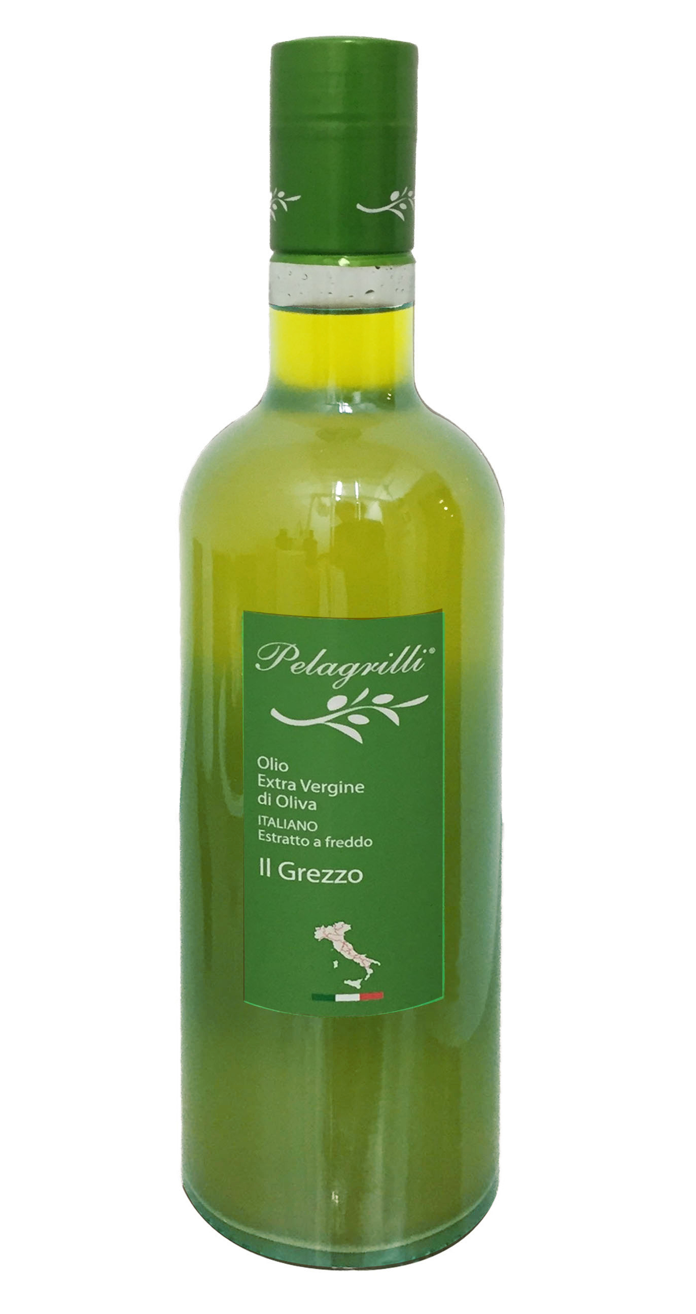 100% ITALIAN LT 0,75 Natives Olivenöl extra - kalt extrahiert - Ernte 2019-2020 - RAW