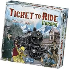 TICKET TO RIDE -EUROPA-