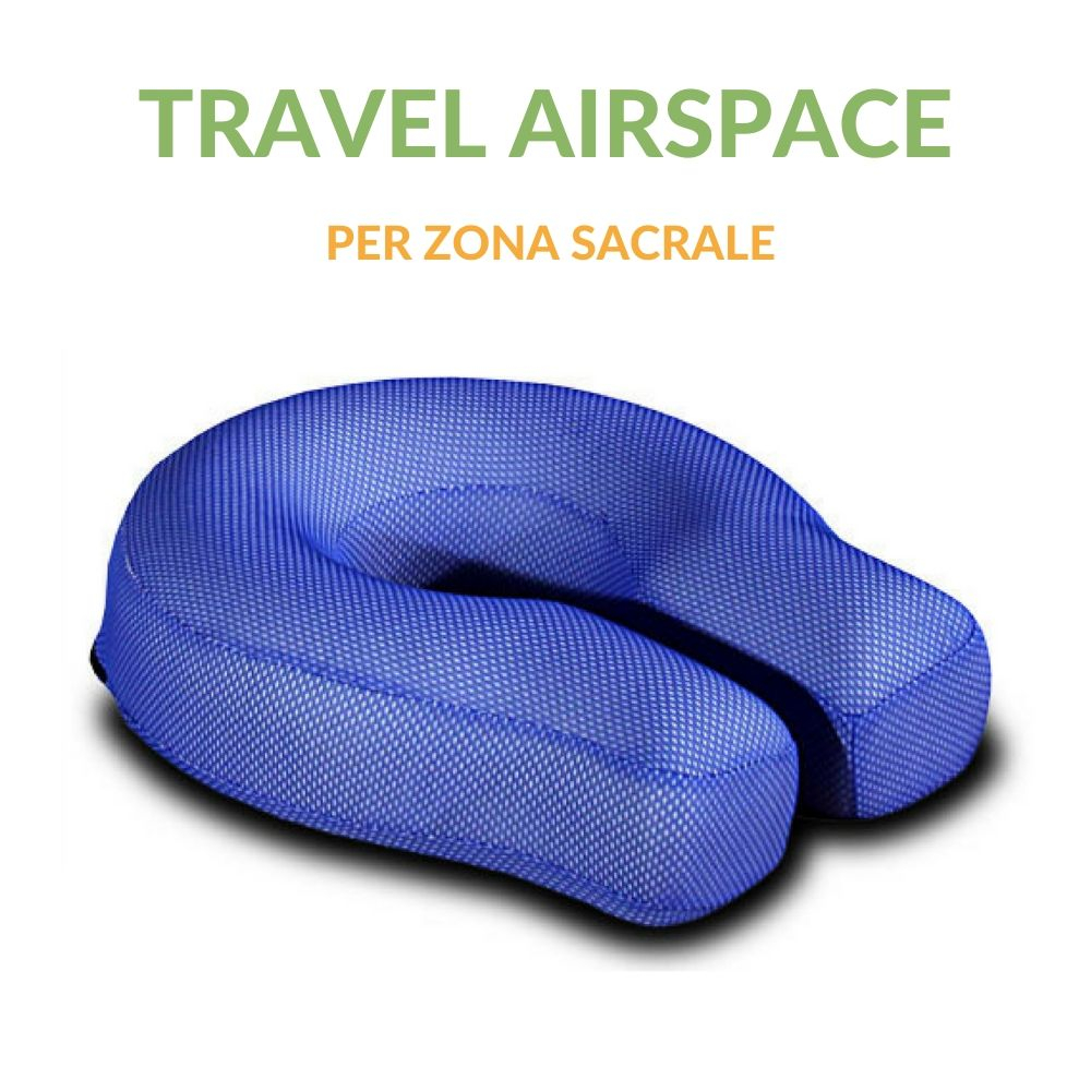Cuscino Sacrale Travel con tessuto in AirSpace