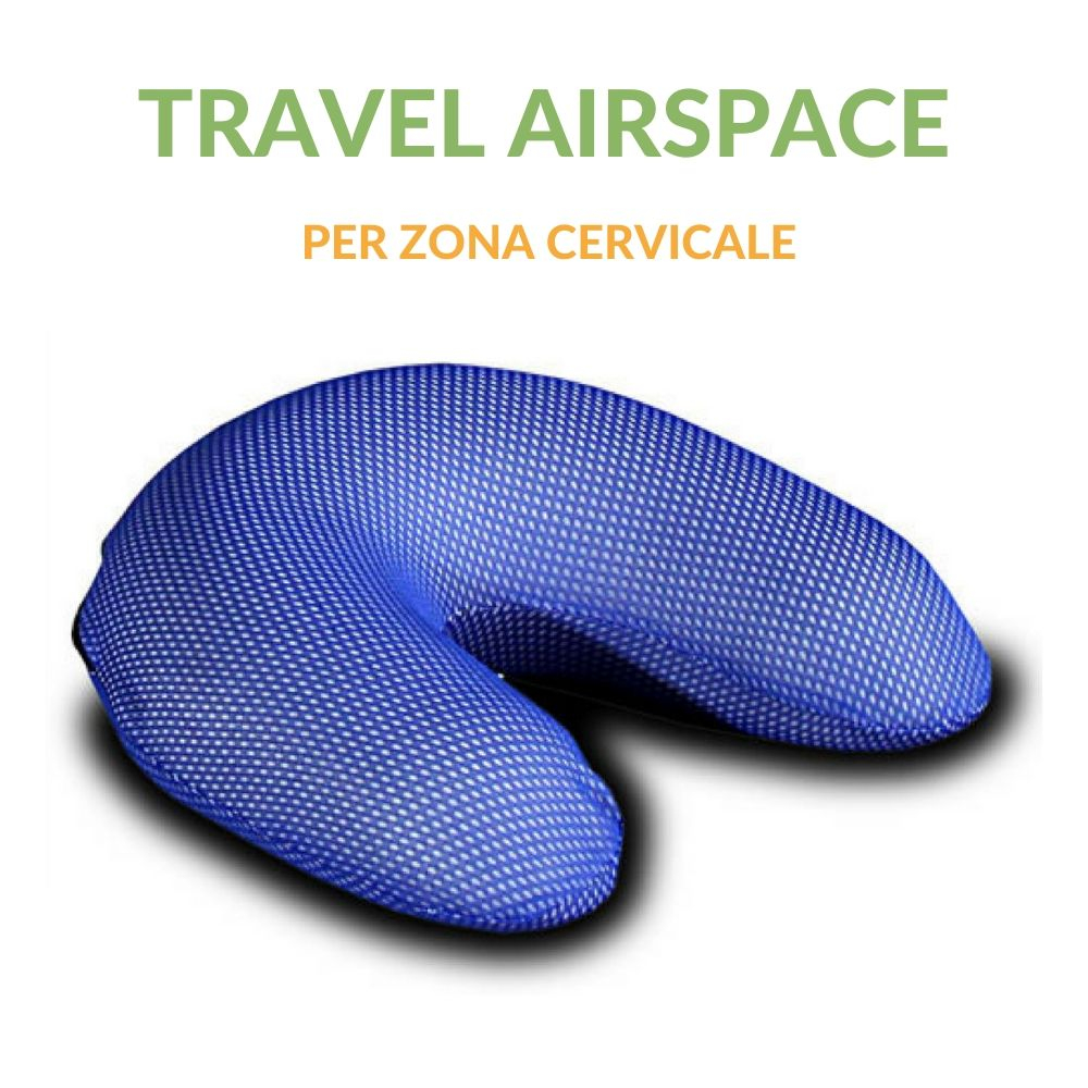 Cuscino Cervicale Travel con tessuto in AirSpace