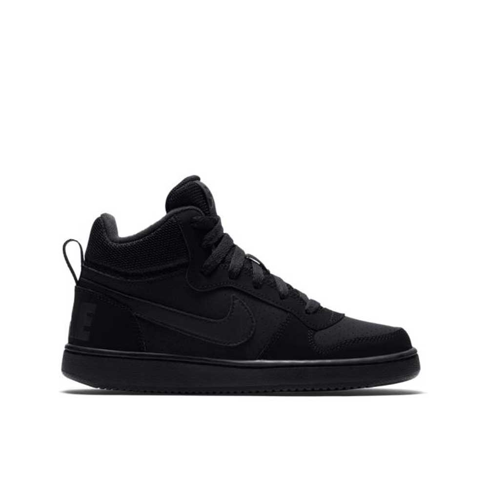 Nike Court Borough Mid Black Unisex