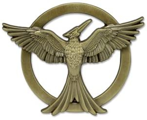 The Hunger Games pin spilla