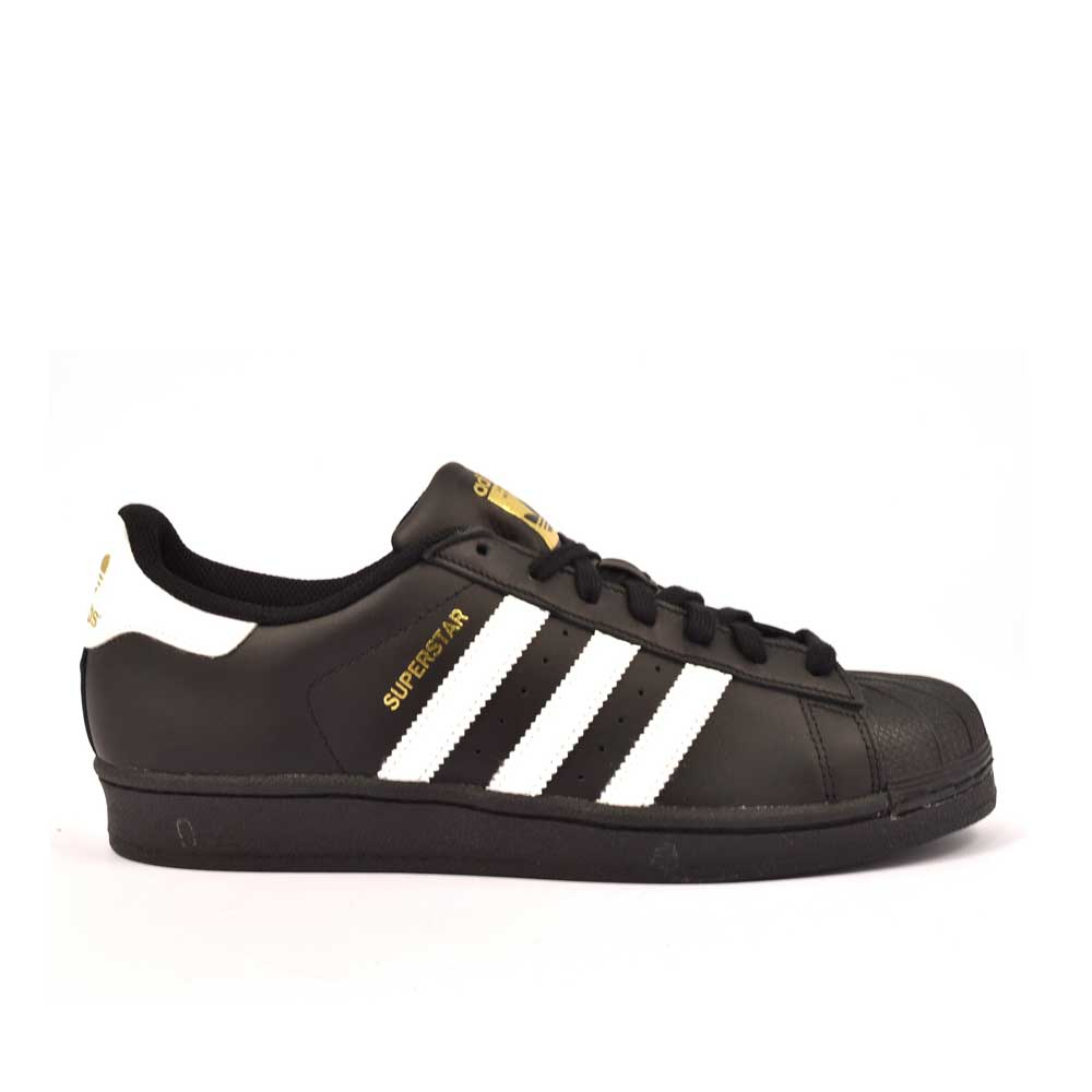 Adidas Superstar Black da Uomo