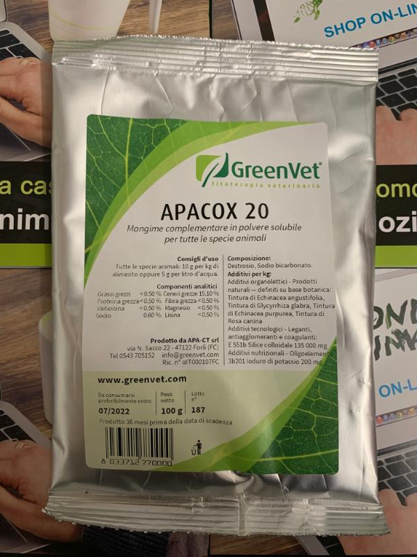 APACOX 20 Conf.100gr