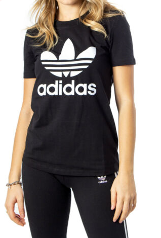 T-shirt Donna ADIDAS FM3311 BLACK/WHITE