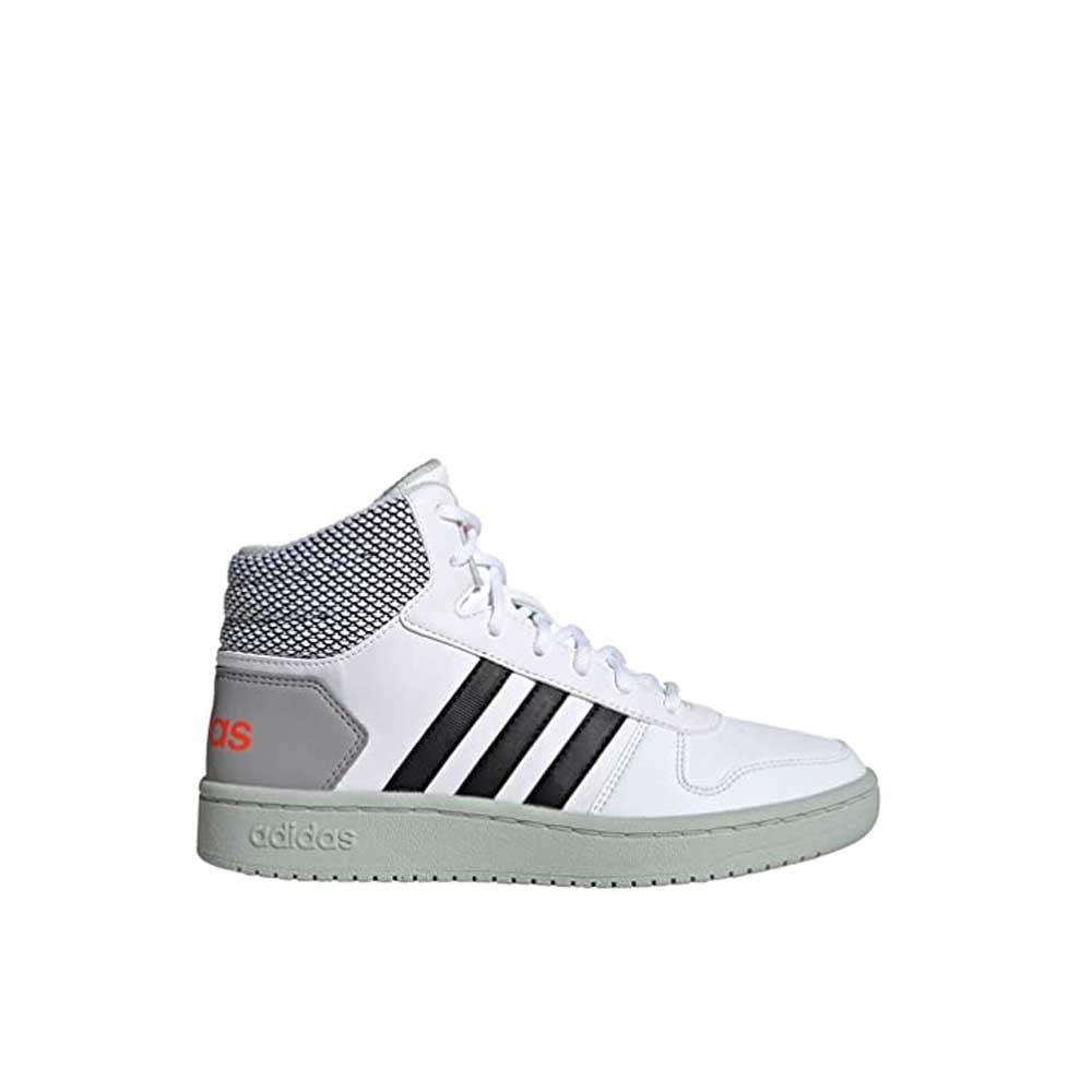 Adidas Hoops Mid 2.0 White Junior