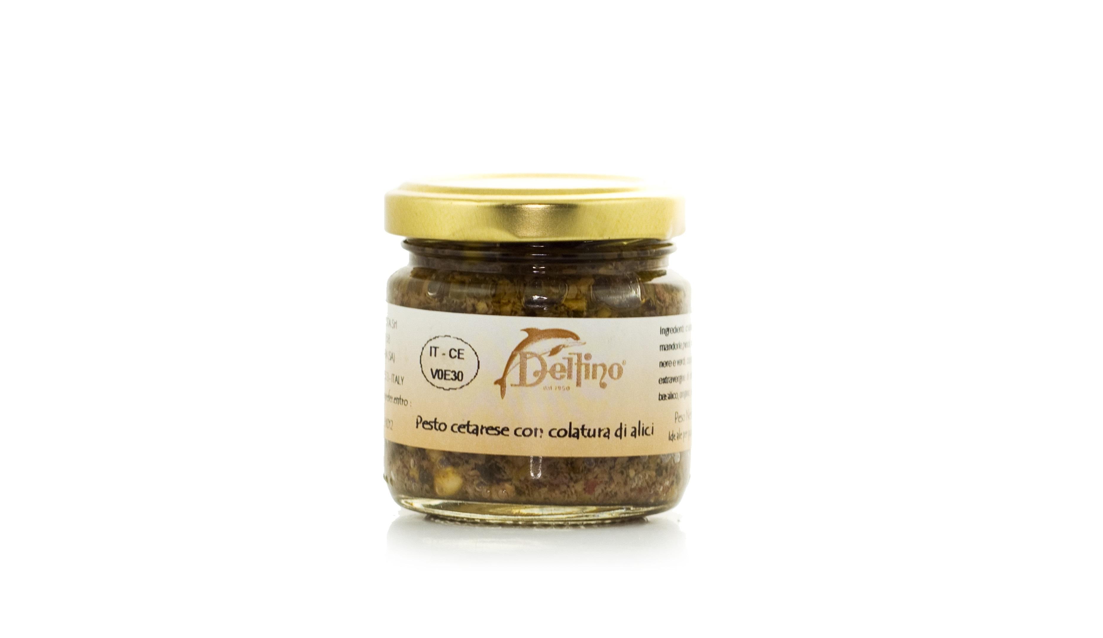 Pesto Cetarese con colatura di alici - vaso ml 110