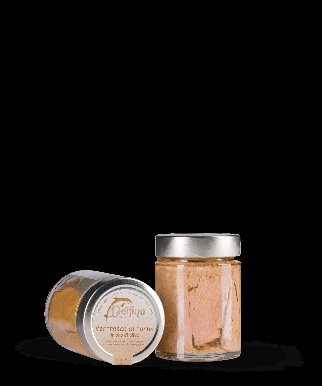 Ventresca di tonno in o.oliva vaso ml 314