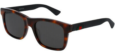 Gucci - Occhiale da Sole Uomo, Havana Black/Grey Shaded  GG0008S  006  C53