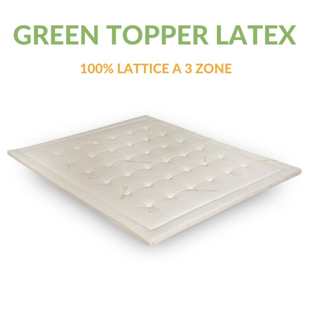 Materassino in lattice | Green Topper Latex |Prezzi a partire da