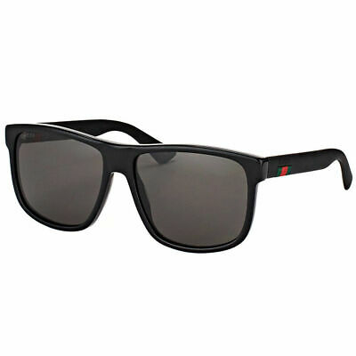 Gucci - Occhiale da Sole Uomo, Black/Grey Shaded  GG0010S  001  C58
