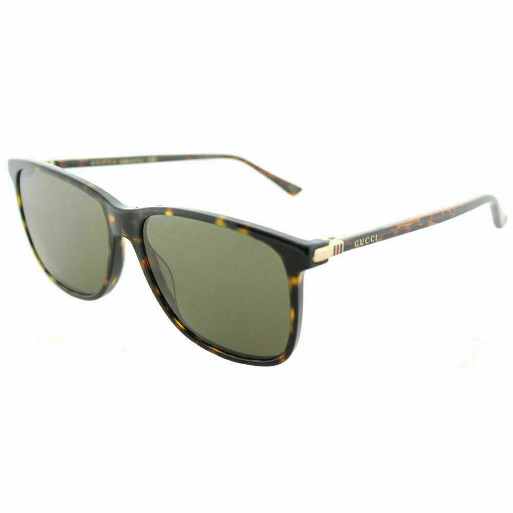 Gucci - Occhiale da Sole Uomo, Dark Havana/Grey Shaded  GG0017S  002  C57