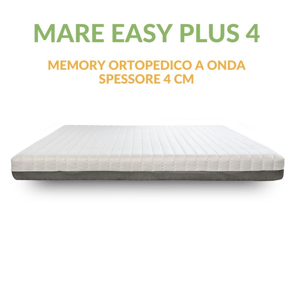 Materasso Memory Ortopedico a 7 zone 4cm H18 | Mare Easy Plus 4