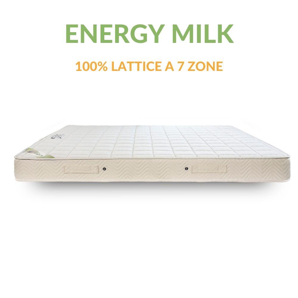Lattice Materassi.Materasso 100 Lattice Con Lato Estivo Invernale H16 Energy Milk