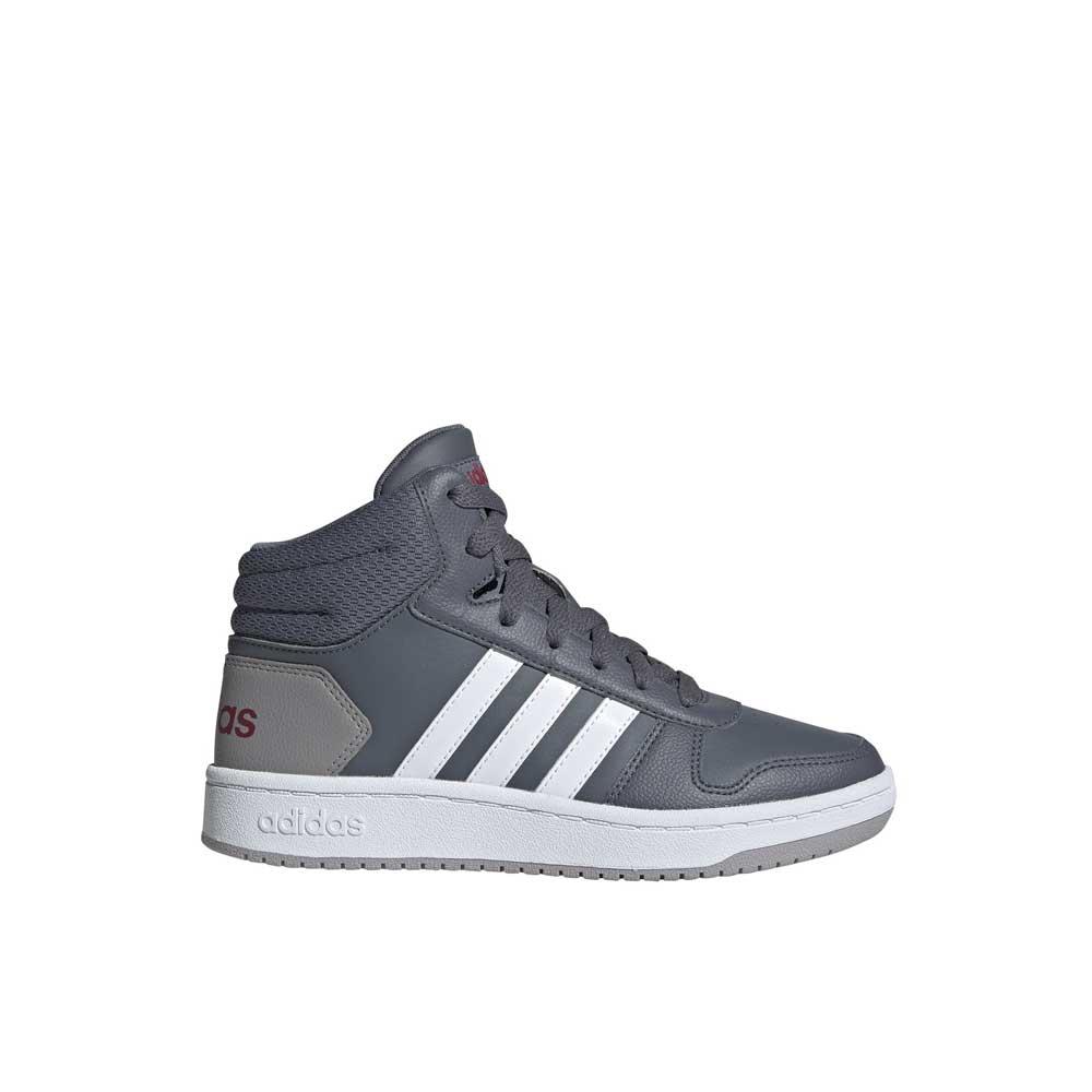 Adidas Hoops Mid 2.0 Grey Junior