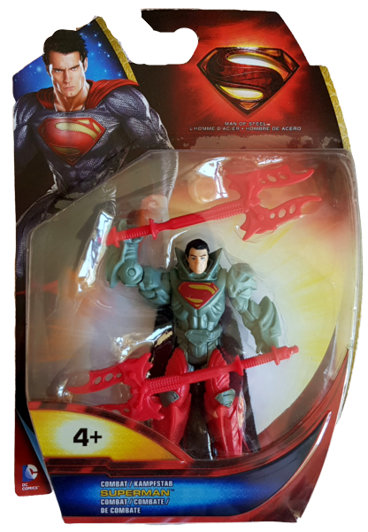 Superman Man of Steel (Action Figure): Superman combat