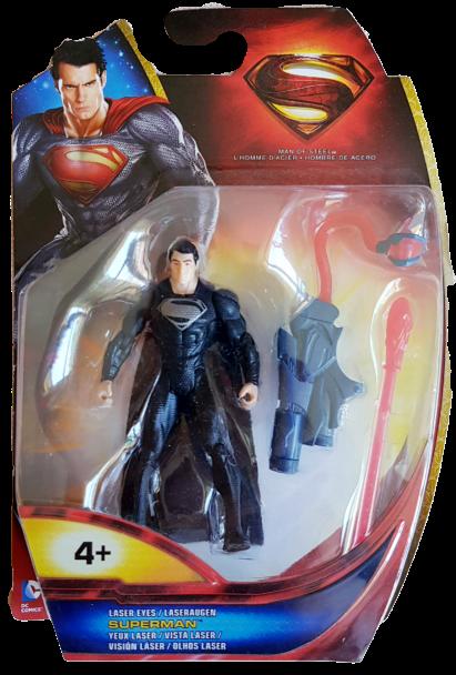 Superman Man of Steel (Action Figure): Superman vista laser