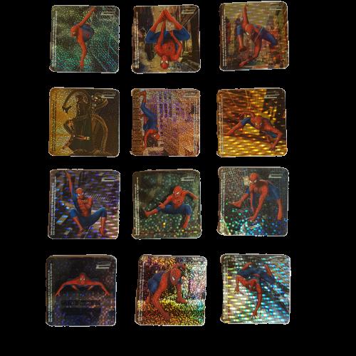 Serie 12 calamite Spiderman 2 + omaggio
