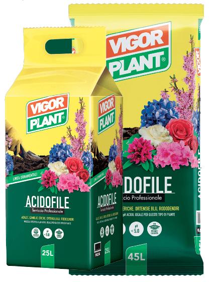 Terriccio Vigor Plant acidofile 45L € 8,95