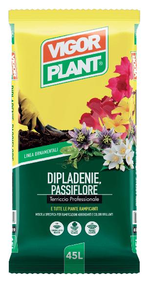 Terriccio Vigor Plant dipladenie e passiflore 45L € 8,95