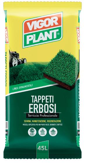 Terriccio Vigor Plant tappeti erbosi 45L € 7,95
