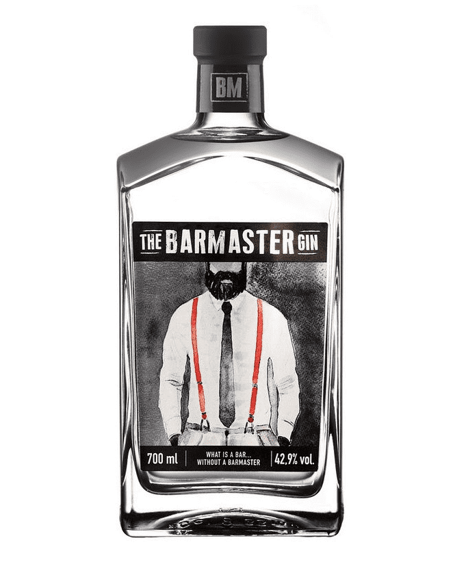 THE BARMASTER GIN 70 CL - 42.9% VOL