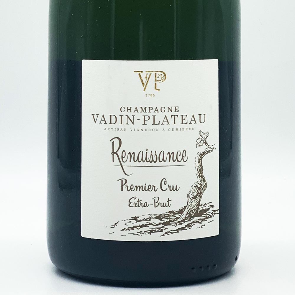 Champagne Extra Brut, Premier Cru Renaissance - Vadin Plateau