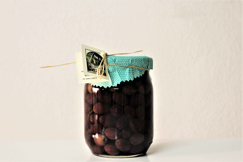 Olive Caiazzane col nocciolo - 580 ml