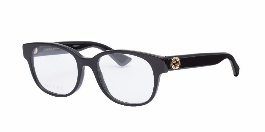 Gucci - Occhiale da Vista Donna, Matte Black  GG0040O  001  C51