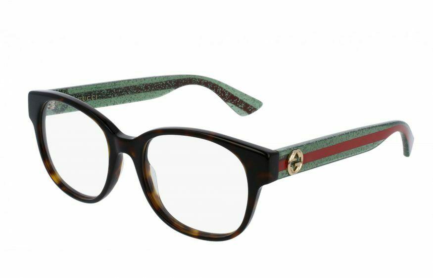 Gucci - Occhiale da Vista Donna, Havana  GG0040O  002  C51