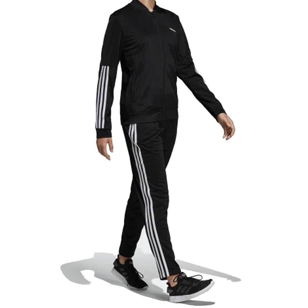 Adidas Tuta Black Banda da Donna